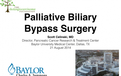 Webinar:  Palliative Surgery for Patients with Cholangiocarcinoma