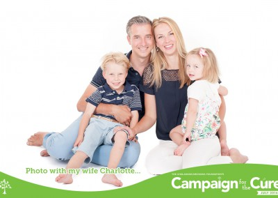 Photo with my wife Charlotte and children Floris & Isabelle