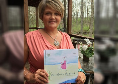 Patty has written and illustrated three children's books with a portion donated to the Cholangiocarcinoma Foundation