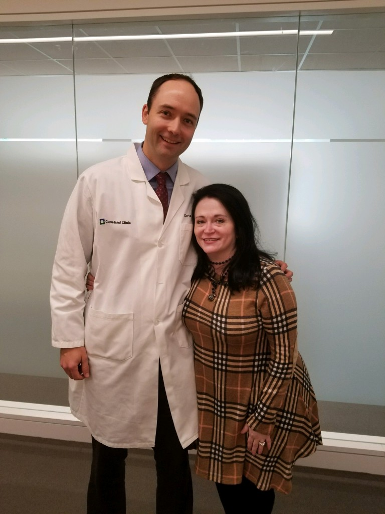 Dr. Stephans pictured with Lisa Craine