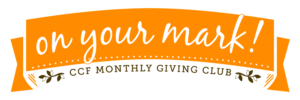 OYM - On Your Mark Monthly Giving